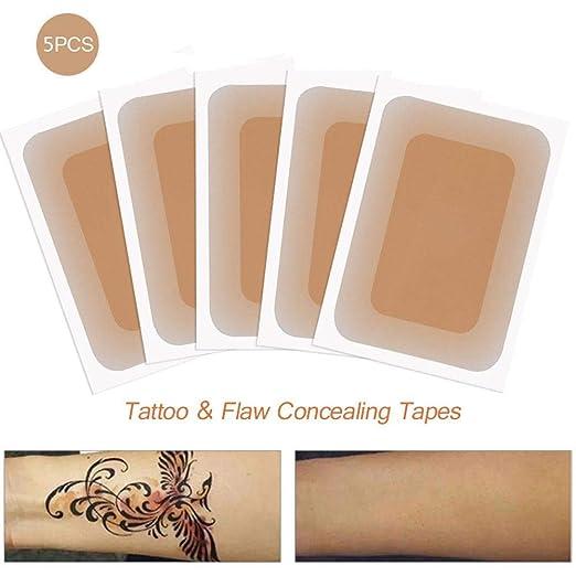 Lesgos Tatuaje Transpirable & Flaw Ocultar Cinta, Cicatrices Flaw ...