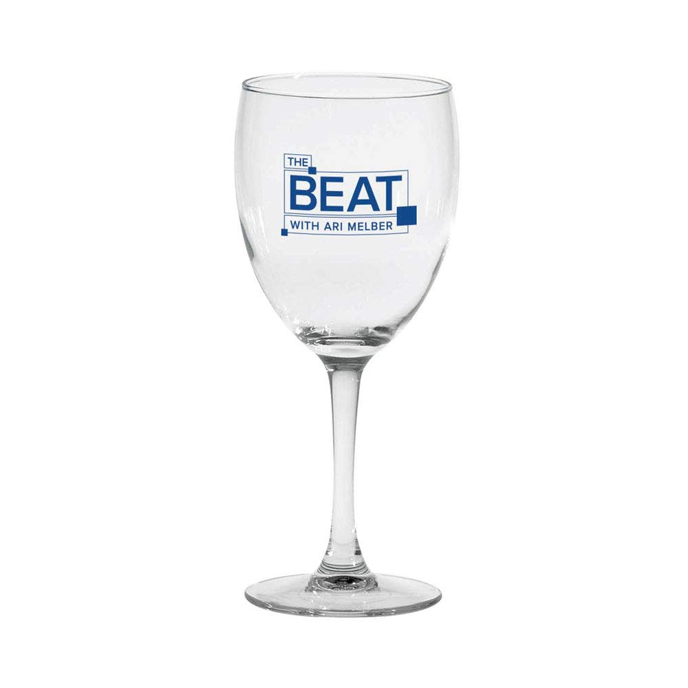 The Beat with Ari Melber Wine Glass