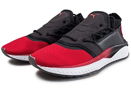 PUMA Herren Toreador Rot Tsugi Shinsei Sneakers toreador/ puma black/ puma white