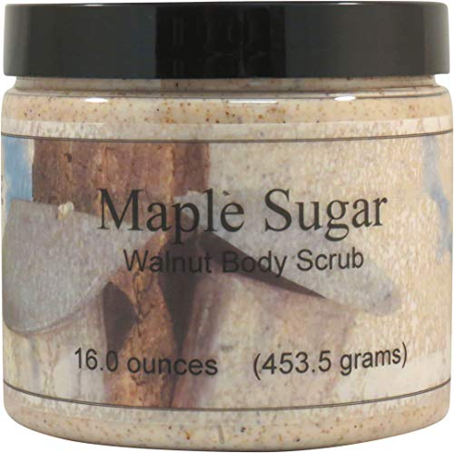Maple Sugar Walnut Body Scrub, 16 oz