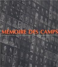 Mémoire des camps (1933-1949) par Georges Angéli