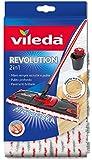 Vileda 132174 SuperMocio Revolution Serpillère de rechange en microfibre