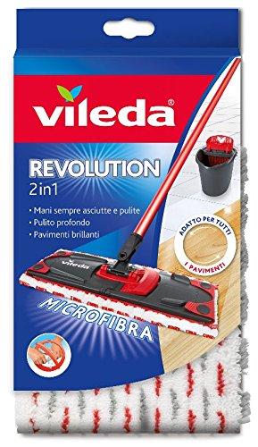 46 opinioni per Vileda Revolution 2 in 1 Panno Ricambio in Microfibra