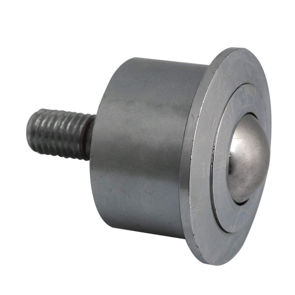 Mxfans Roller Ball Transfer Bearings M10 Threaded Stem Caster Wheel 22mm Silver blhlltd