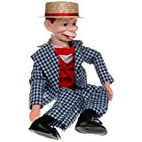 """30"""" Mortimer Snerd Ventriloquist Doll with Tote Bag and Instruction Booklet"""