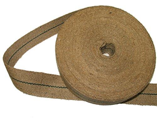 - Pandoras Upholstery 12 lbs 2-inch Jute Webbing in 33 m Roll, Brown