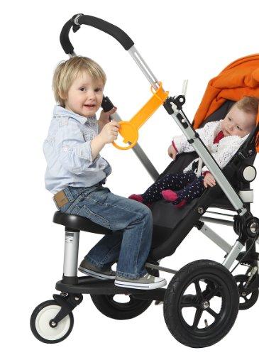 Amazon.com: Kleine Dreumes Twoo Bugaboo Wheeled Board Seat ...
