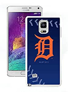 DIY,Custom Samsung Galaxy Note4 Case Design with Detroit Tigers (2) in White