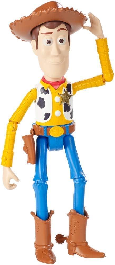Mattel Disney Toy Story 4-Figura básica Woody, juguetes niños +3 años GGX34, multicolor