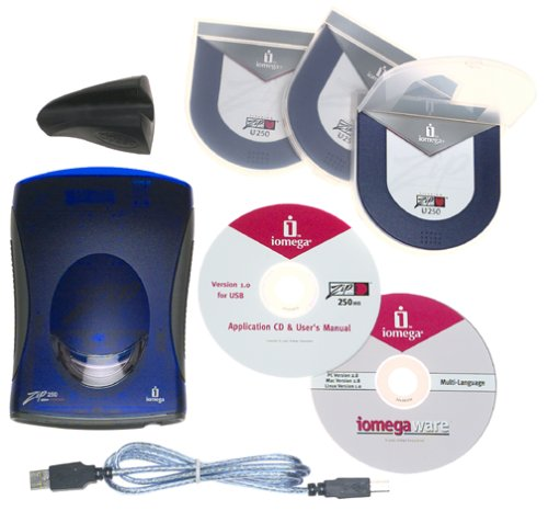 Iomega 31653 Zip 250 MB USB-Powered Starter Kit with 3 250 Disks by Iomega (Image #2)