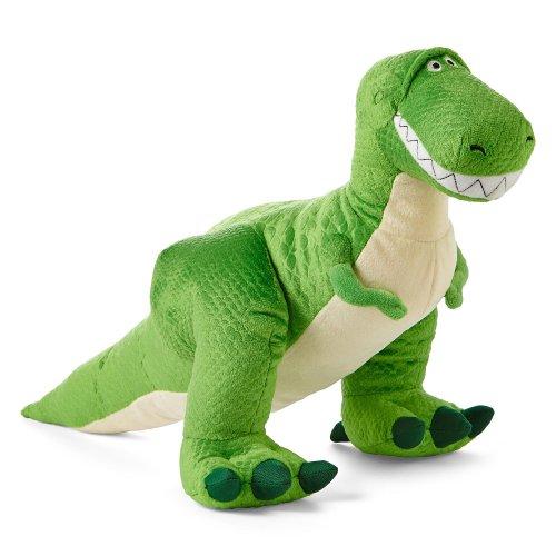 Amazon Com Disney Rex Medium Plush Multi Toys Games