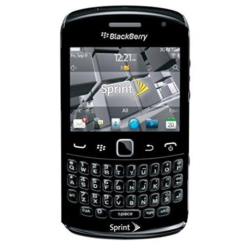 Blackberry Curve 9350 Sprint CDMA Phone with OS 7, 5MP Camera, GPS, Wi-Fi  and Bluetooth - Black