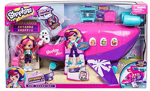 Shopkins Season 8 Playset: Skyannas Shopkins Jet