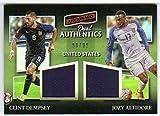 2016-17 2017 Aficionado Dual Authentics Jersey /99 Clint Dempsey/Jozy Altidore United States