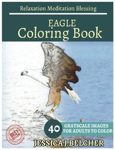 eagle coloring book - 4