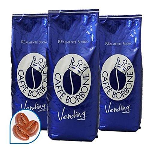 81 opinioni per 3 KG CAFFE IN GRANI BORBONE QUALITA' BLU