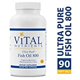 Vital Nutrients – Ultra Pure Fish Oil 800 Triglyceride Form (Pharmaceutical Grade) – Hi-Potency Deep Sea Fish Oil, Cardiovascular Support – 90 Softgel Capsules Review