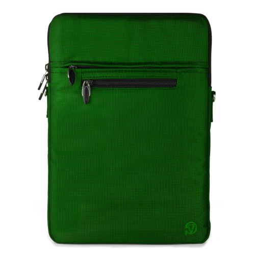 Vaio Bag (Green VG Hydei Nylon Laptop Carrying Bag Case w/ Shoulder Strap for Sony VAIO Duo 11 Ultrabook)