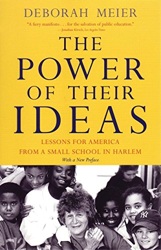 The Power of Their Ideas: Lessons for America from a Small School in Harlem (Best Small Business Ideas Canada)