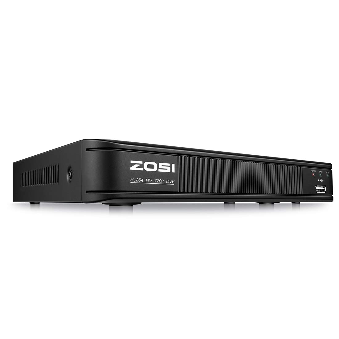 ZOSI 8 Channel 720P 1080N HD-TVI Security DVR Recorder HD Hybrid Capability 4-in-1(Analog/AHD/TVI/CVI) Surveillance System,Motion Detection,Remote Control,Email Alarm,No Hard Drive by ZOSI