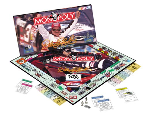 Dale Earnhardt Monopoly NASCAR Special Editon Board Game (Earnhardt Dale Race Car First)