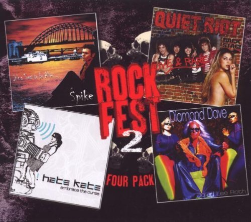 Rockfest Four- Pack Vol 2 by David Lee Roth, Quiet Riot, Spike, I Hate Kate (2009-10-06)
