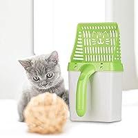 Ansenesna Schaufel Katzenstreuschaufel Mit Behälter Kunststoff Höhle Streuschaufel Katzen Mit Halter