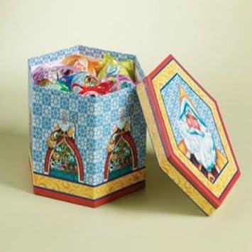 Amazon.com: Jim Shore 12 Days Of Christmas Decoupage Ornaments ...