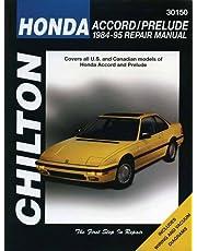 Honda: Accord/Prelude 1984-95