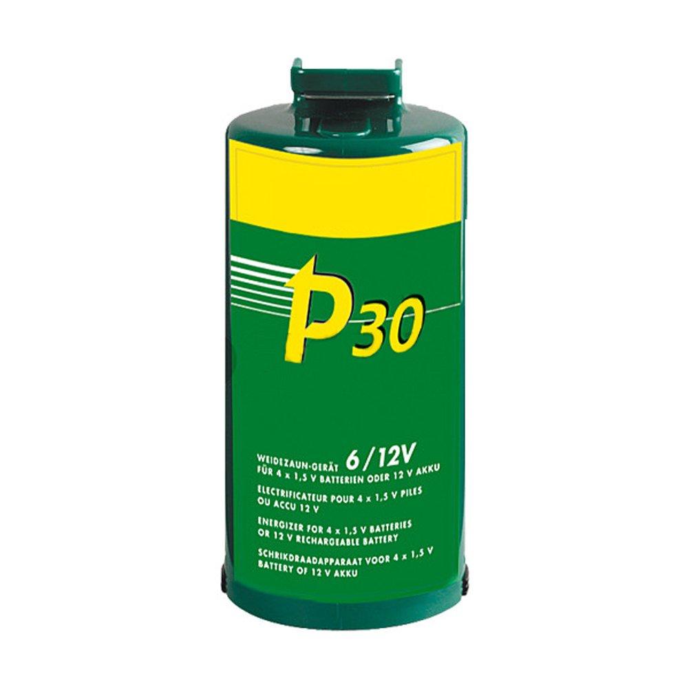 P30, Batterien Weidezaun-Gerät für 4 Monozellen oder ext. 12V Akku - 140800
