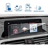 LFOTPP BMW 2 Series 3 Series 4 Series 8.8-Inch Car Navigation Screen Protector,Clear Tempered Glass Center Touch Screen Protector Anti Scratch High Clarity