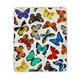 My Little Nest Warm Throw Blanket Mix Colorful Butterfly Lightweight MicrofiberSoft Blanket Everyday Use for Bed Couch Sofa 50'' x 60''