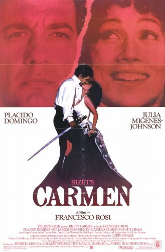 Bizet's Carmen Poster Movie 1984