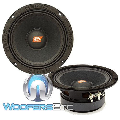 2 Way Car Speaker 60 Watt Hertz Dcx87.3 8.7 Cm 87Mm
