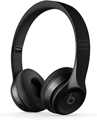 Beats Solo3 Wireless On-Ear Headphones - Apple W1 Headphone Chip, Class 1 Bluetooth, 40 Hours Of Listening Time - Gloss Black (Previous Model)
