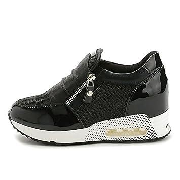 4203edbf926e82 FYQ & les femmes chaussures coussin d'air hauteur croissant chaussures  casual sneaker chaussures-