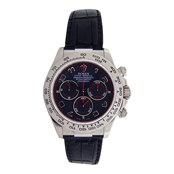 Rolex Daytona Automatic-Self-Wind 116519 - Reloj para Hombre (Certificado prepropietario)