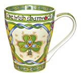 Irish Shamrock China Mug %2D an Irish gi
