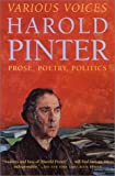 Various Voices, Harold Pinter, 0802138241