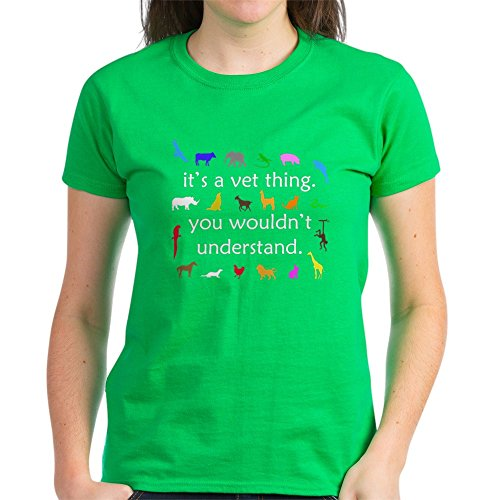 Dark T-shi Animal - CafePress It's A Vet Thing (Dark Apparel) Women's Dark T-Shi - Womens Cotton T-Shirt