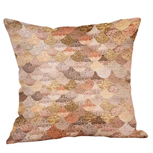 GBSELL Lovely Geometric Pillow Cover Home Cafe Throw Pillow Case Party Christmas Halloween Decor (D)