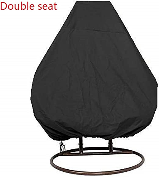 Outdoor Waterproof Rattan Swing Patio Garden Weave Egg Chair Seat Cover