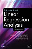 Introduction to Linear Regression Analysis, Fifth Edition Set, Douglas C. Montgomery, 1118780574