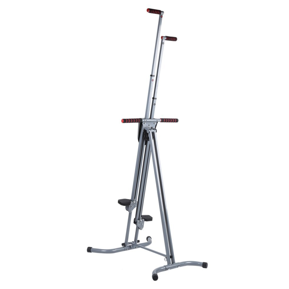 OUTAD Vertical Climber with Cast Iron Frame and Digital Display | Full Total Body Workout Fitness Folding Cardio Climber Exercise Machine for Home Gym, As Seen on TV by OUTAD (Image #5)