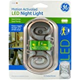 GE 11465 Motion-Activated LED Night Light with Oil-Rubbed Bronze Finish
