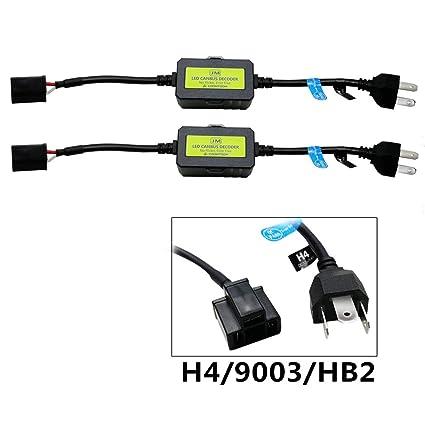 2 pcs Super CANBUS D/écodeur LED H7 H11 9005 9006 HB3 HB4 H1 H3 Voiture Avertissement Canceller Condensateur Canbus pour LED Phare