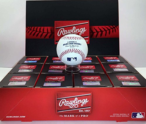 Rawlings Official Major League Game Baseball - ROMLB - 1 Dozen - Rawlings League Baseball American