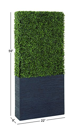 Deco 79 50861 Pe Boxwood Hedge, 22'' by 59'' by Deco 79 (Image #1)