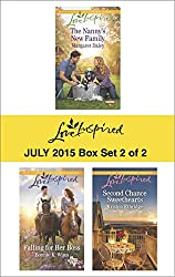 Love Inspired July 2015 - Box Set 2 of 2: The Nanny's New Family\Falling for Her Boss\Second Chance Sweethearts