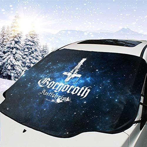 FrankIJohnson Gorgoroth Antichrist Car Sunshield,UV and Sun Protection,Windshield Sunshield